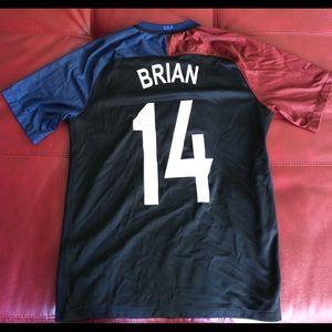USWNT Soccer Jersey. #14 (Morgan Brian).